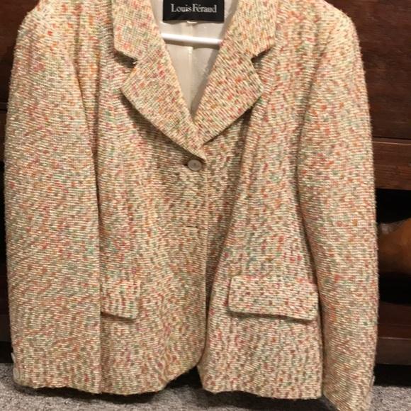 Louis Feraud Jackets & Blazers - Light tweed blazer
